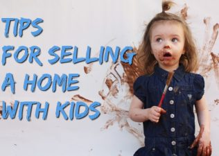 selling a house with kids